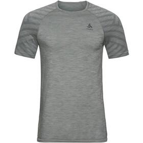 Odlo BL Kinship Seamless Crew Neck T-shirt Heren, grey melange
